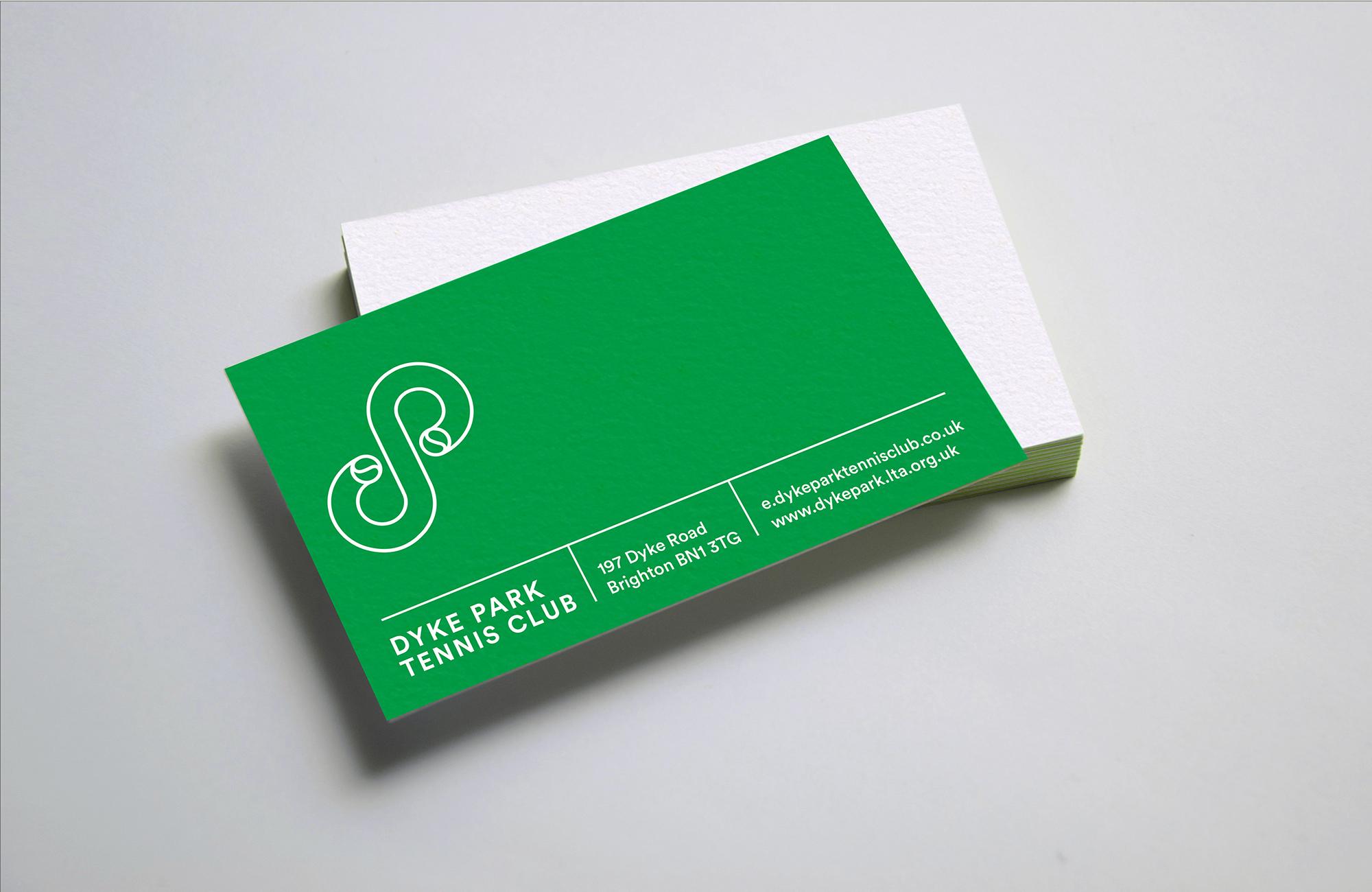 Dyke tennis bcard print